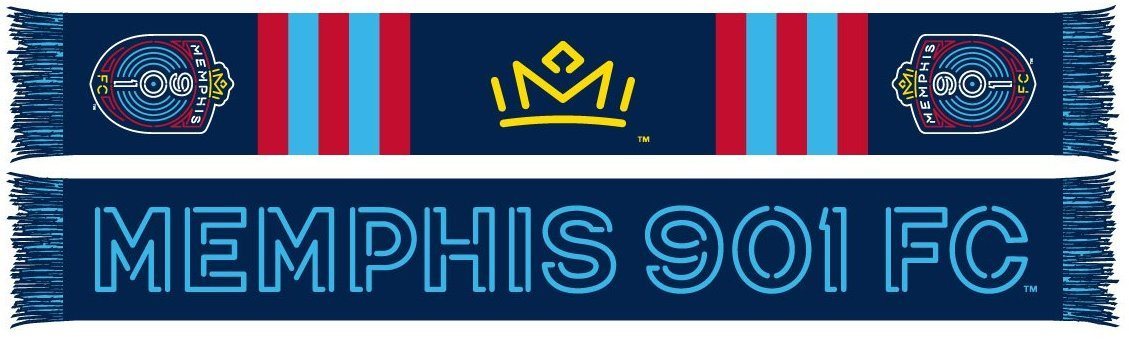 Memphis 901 FC Scarf - Neon (Summer Scarf)