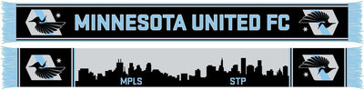 MINNESOTA UNITED SCARF - Twin Cities Skylines