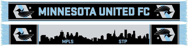 MINNESOTA UNITED FC SCARF - Twin Cities Skylines
