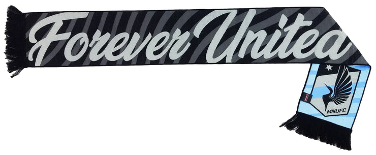 Minnesota United Forever scarf woven