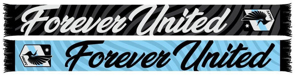 MINNESOTA UNITED FC SCARF - Forever United (HD Woven)