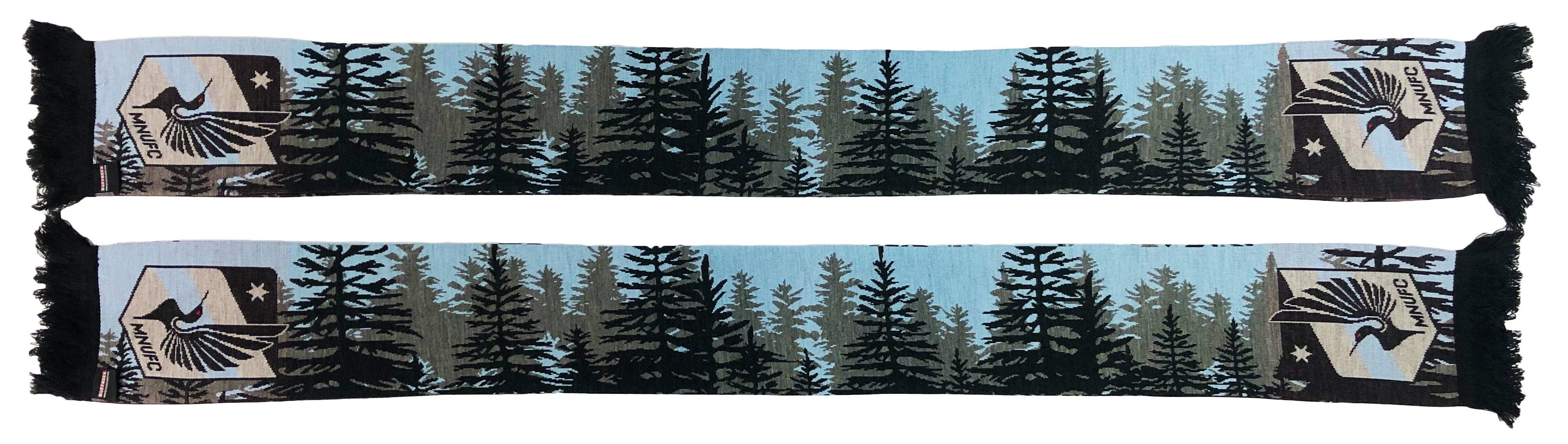 MINNESOTA UNITED FC SCARF - Forest (HD Knit)