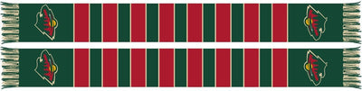 MINNESOTA WILD SCARF - Traditional Bar Scarf
