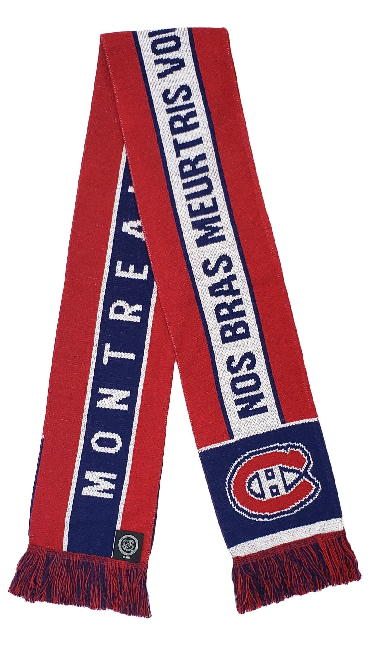 MONTREAL CANADIENS SCARF - Home Jersey