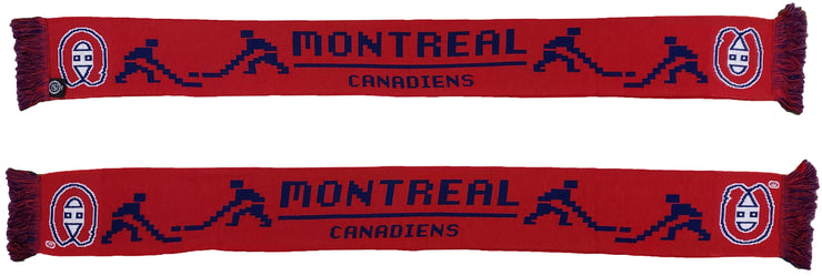 MONTREAL CANADIENS SCARF - 8-Bit
