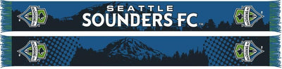 SEATTLE SOUNDERS SCARF - Mt. Rainier - Ruffneck Scarves
