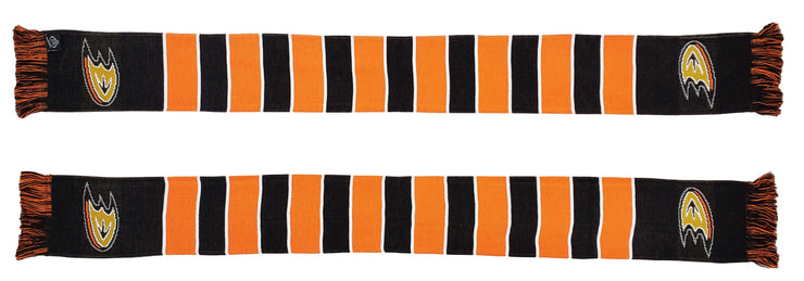 ANAHEIM DUCKS SCARF - Traditional Bar Scarf