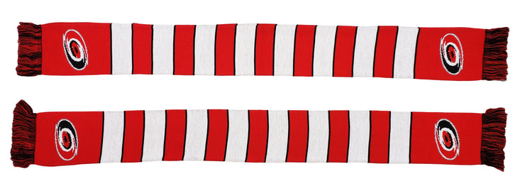 CAROLINA HURRICANES SCARF - Traditional Bar Scarf