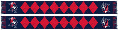 COLUMBUS BLUE JACKETS SCARF - Argyle (HD Knit)
