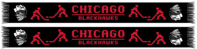 CHICAGO BLACKHAWKS SCARF - 8-Bit