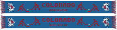 COLORADO AVALANCHE SCARF - 8-Bit