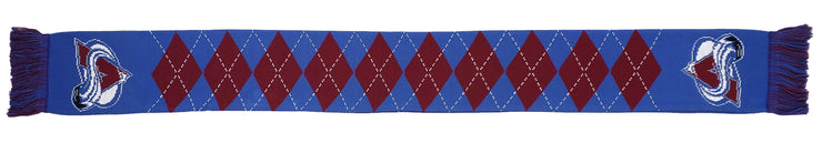 COLORADO AVALANCHE SCARF - Argyle