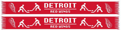 DETROIT RED WINGS SCARF - 8-Bit scarf