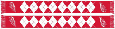 DETROIT RED WINGS SCARF - Argyle