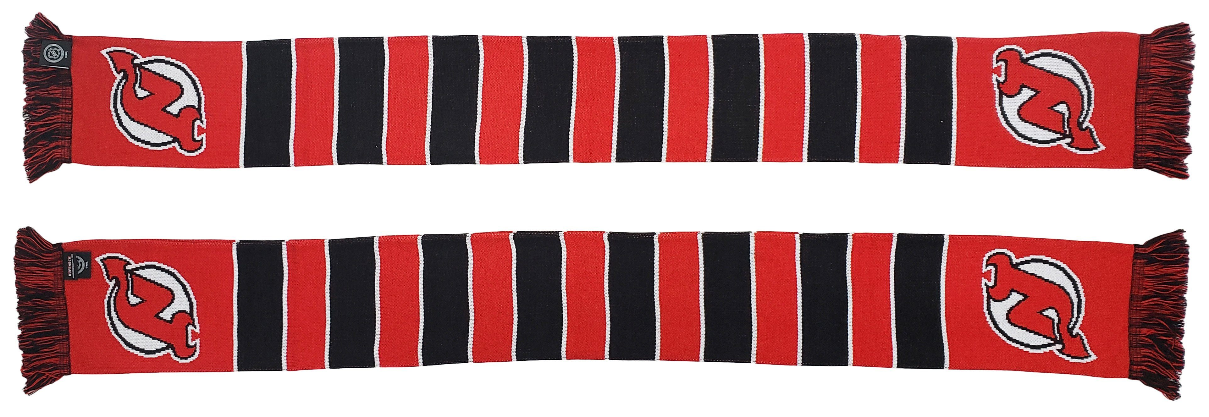 NEW JERSEY DEVILS SCARF - Traditional Bar Scarf