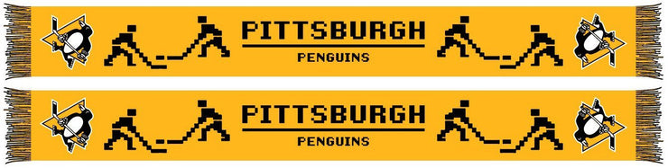 PITTSBURGH PENGUINS SCARF - 8-Bit