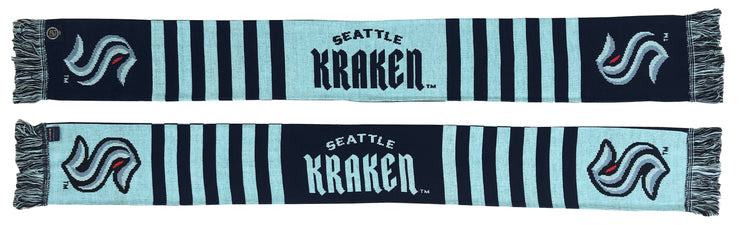 Seattle Kraken Scarf Wordmark design