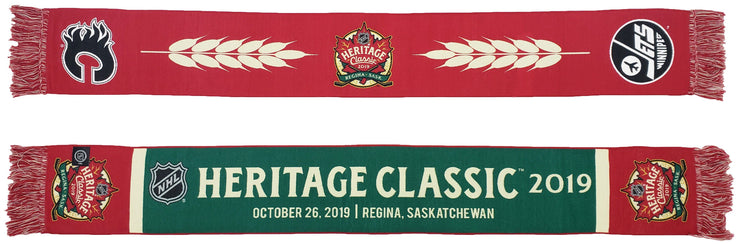 2019 Heritage Classic scarf NHL