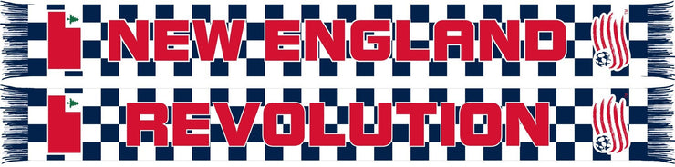 NEW ENGLAND REVOLUTION SCARF - Checkered - Ruffneck Scarves
