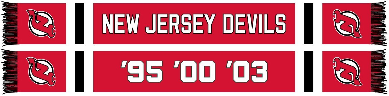 NEW JERSEY DEVILS SCARF - Home Jersey