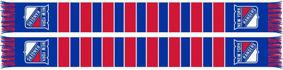 NEW YORK RANGERS SCARF - Traditional Bar Scarf