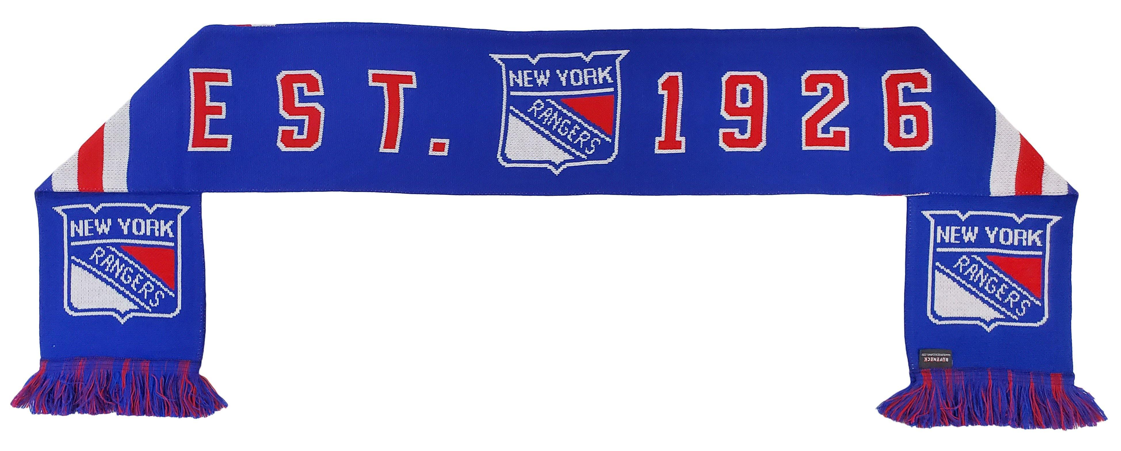 NEW YORK RANGERS SCARF - Home Jersey