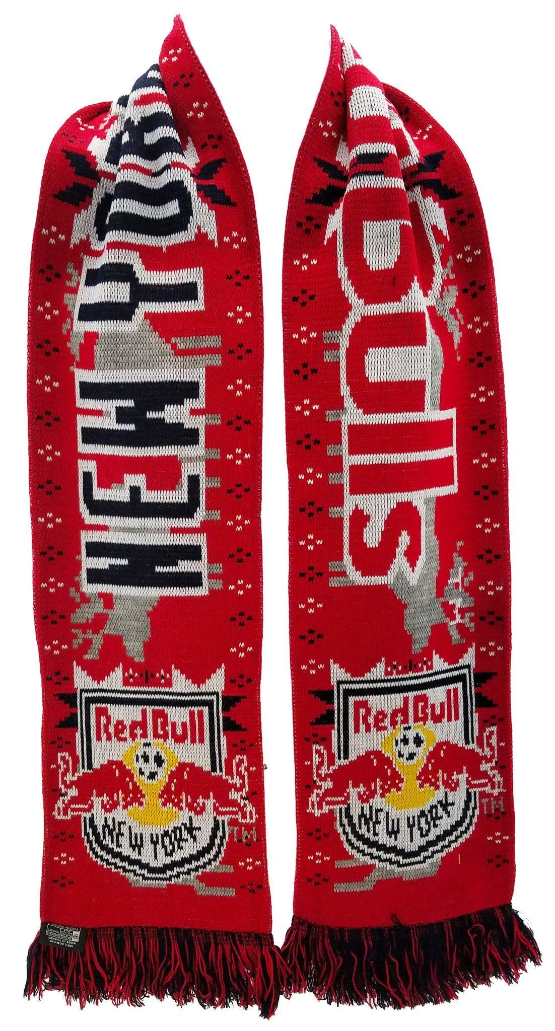 NEW YORK RED BULLS SCARF - Winter Scarf