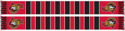OTTAWA SENATORS SCARF - Traditional Bar Scarf