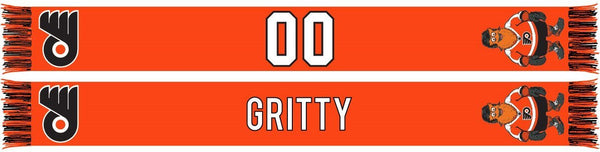 PHILADELPHIA FLYERS SCARF - Mascot - Gritty (Summer Scarf)