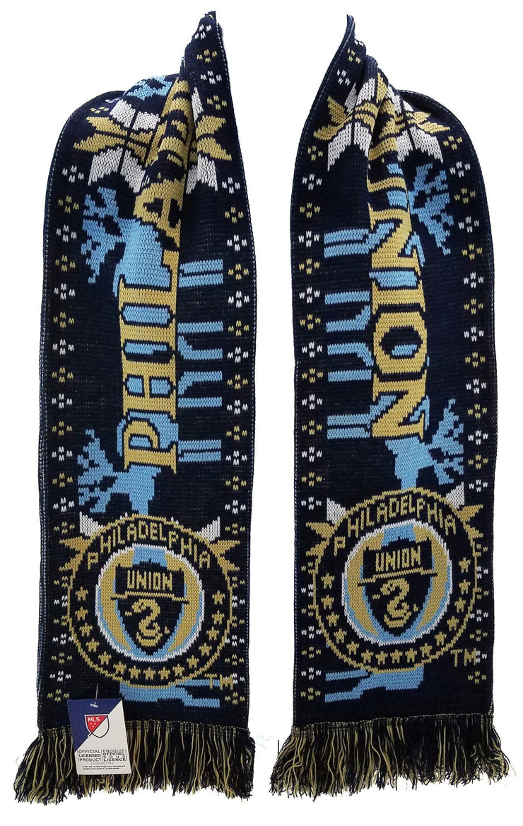 PHILADELPHIA UNION SCARF - Winter Scarf