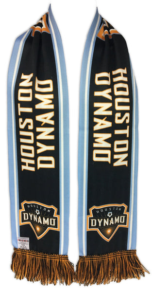 HOUSTON DYNAMO SCARF - Blue Stripes (Summer Scarf)