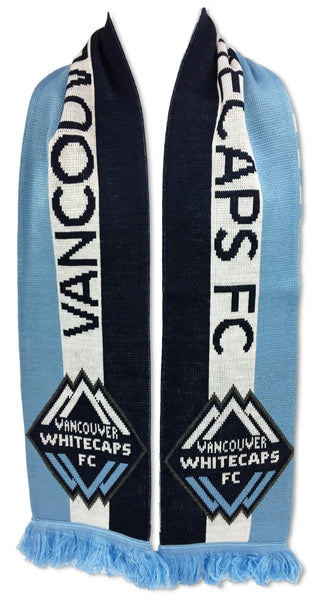 VANCOUVER WHITECAPS SCARF - Bars and Stripes