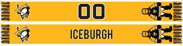 PITTSBURGH PENGUINS - Mascot - Iceburgh (Summer Scarf)