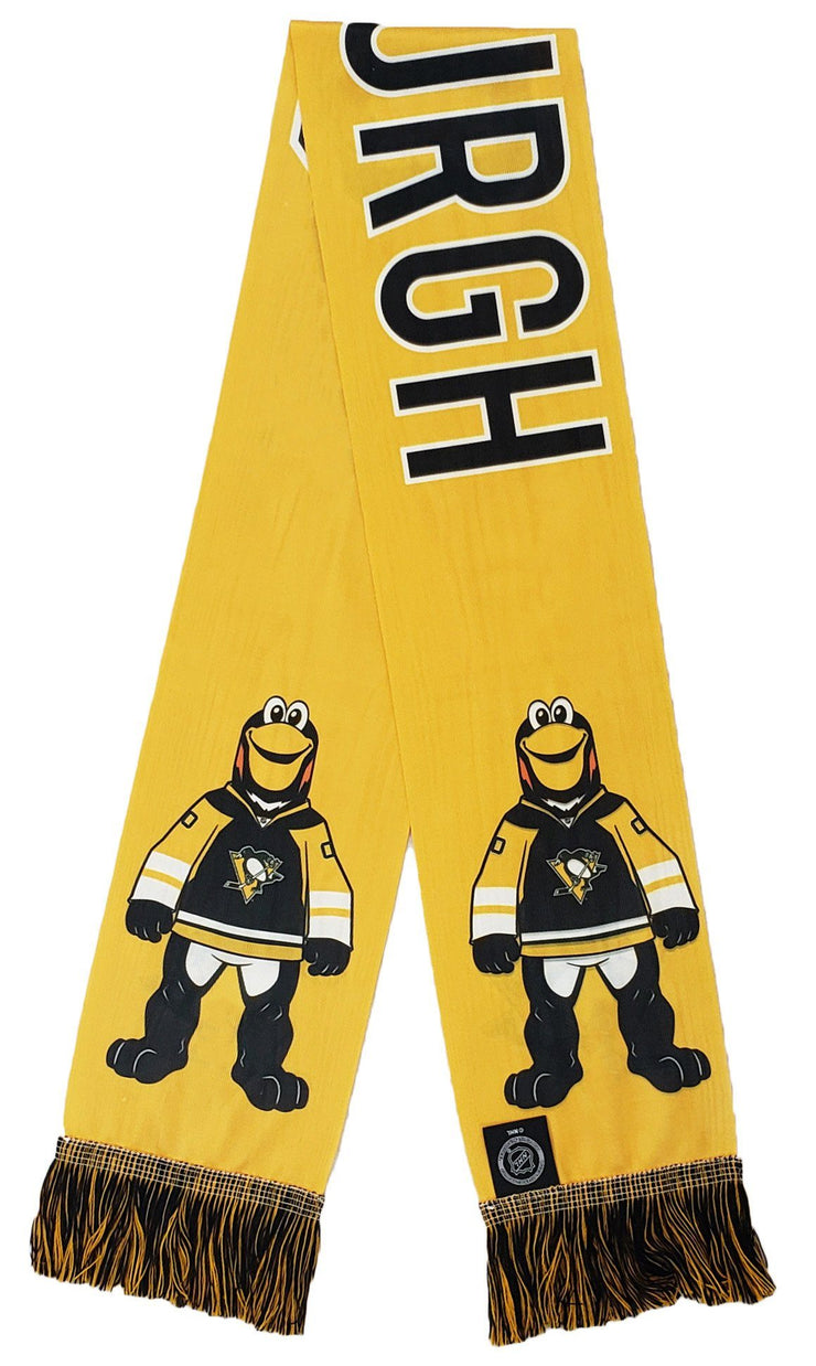PITTSBURGH PENGUINS SCARF - Mascot - Iceburgh (Summer Scarf)