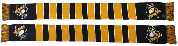 PITTSBURGH PENGUINS SCARF - Traditional Bar Scarf