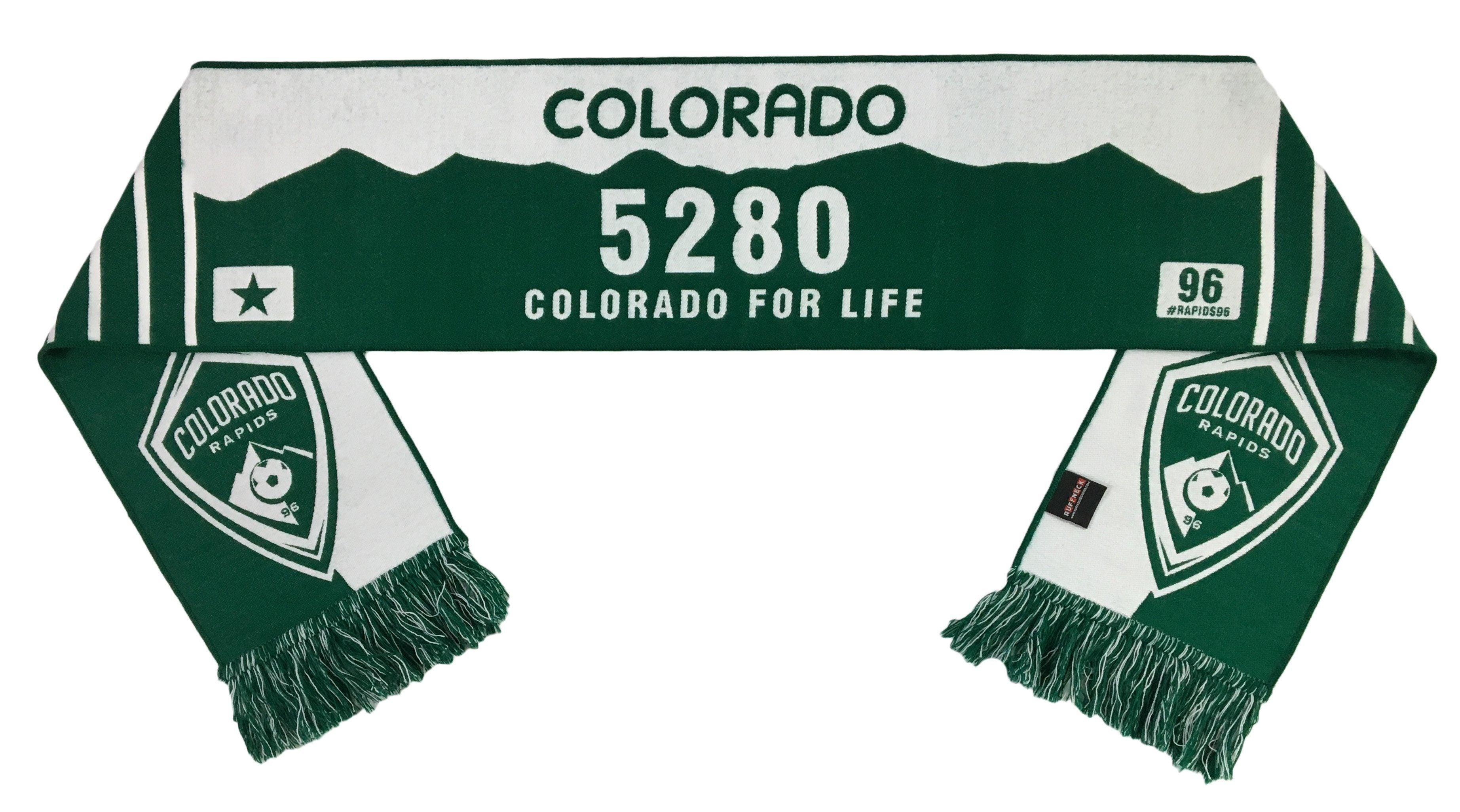 COLORADO RAPIDS SCARF - License Plate (HD Woven)