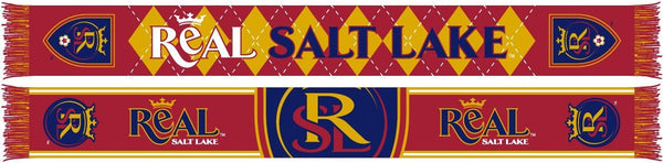 REAL SALT LAKE SCARF - Royal - Ruffneck Scarves - 1