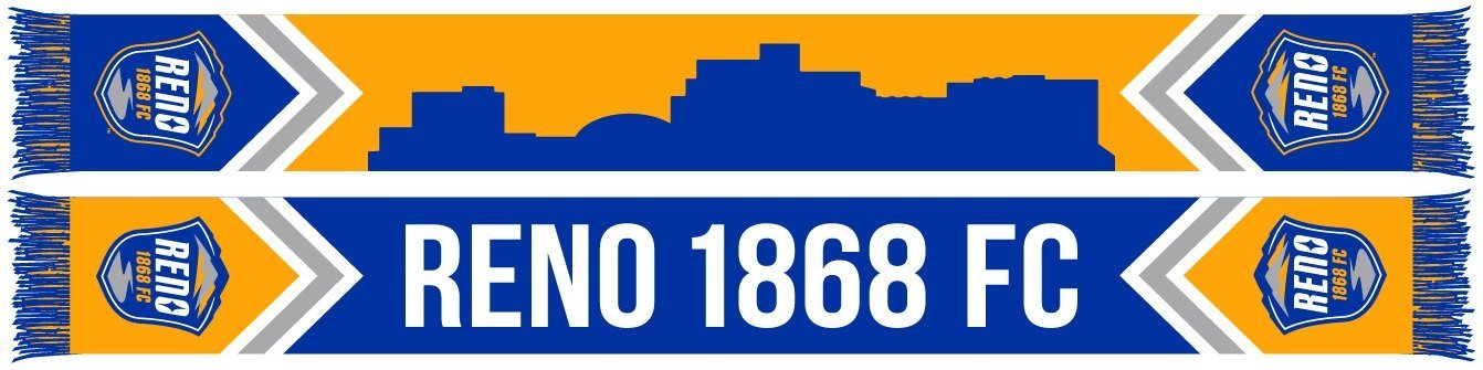 Reno 1868 FC Scarf - Skyline (HD Knit)