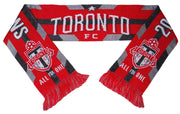 TORONTO FC SCARF - 2017 MLS Cup Champions - Traditional Knit