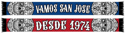 SAN JOSE EARTHQUAKES SCARF - Vamos San Jose (HD Knit)