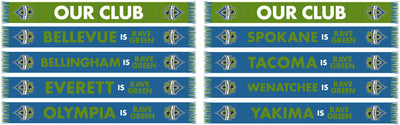 SEATTLE SOUNDERS SCARF - Our Club (Pre-Order)
