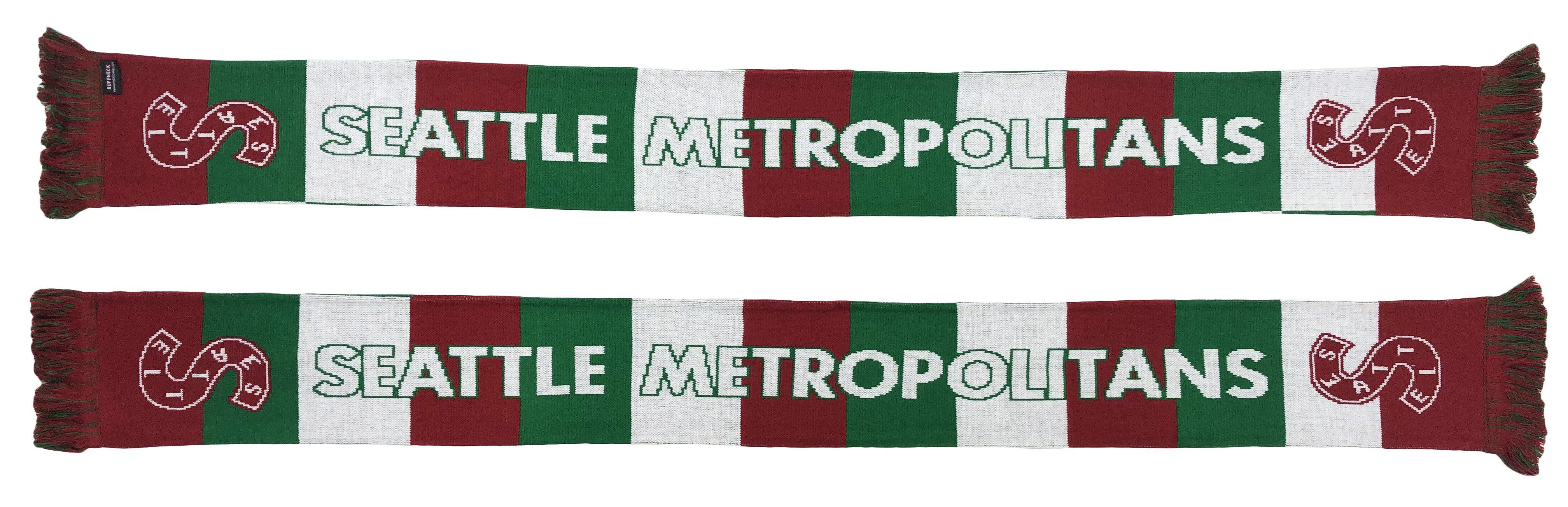 SEATTLE METROPOLITANS SCARF - Traditional Bar Scarf