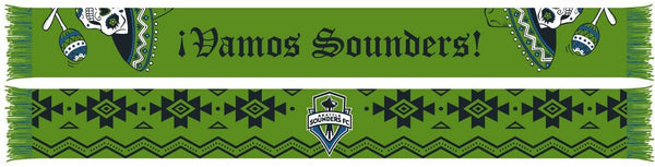 SEATTLE SOUNDERS SCARF - Vamos Sounders (HD Woven Scarf)