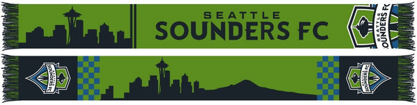 SEATTLE SOUNDERS SCARF - Deco Skyline