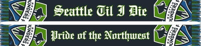SEATTLE SOUNDERS SCARF - Pride of the Northwest - Ruffneck Scarves