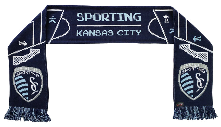 SPORTING KANSAS CITY SCARF - 8-Bit Soccer