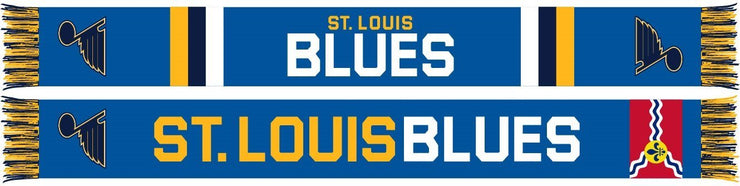 ST. LOUIS BLUES SCARF - Home Jersey