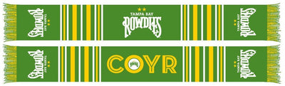 Tampa Bay Rowdies Scarf - Bar (Summer Scarf)