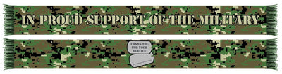 MILITARY APPRECIATION WRITABLE SCARF (Summer Scarf)