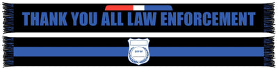 LAW ENFORCEMENT APPRECIATION WRITABLE SCARF (Summer Scarf)